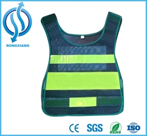 Europe Certificate Hi visibility Reflective Safety Vest yellow/orange LIME WHITE EL Safety vest