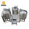 New design micro 500L beer brewery equipment with conical fermenter