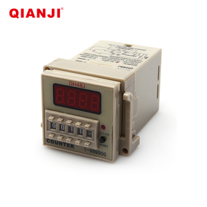 QIANJI AC110-220V DH48J(8 Pins) Digital Counter Delay Time Relay Counter