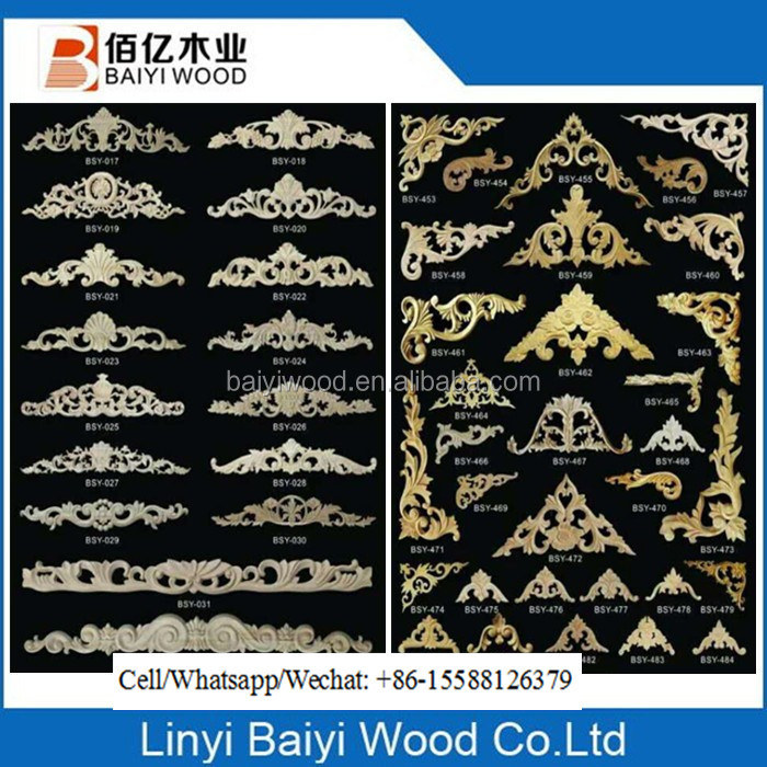 wood onlays modern wood carving