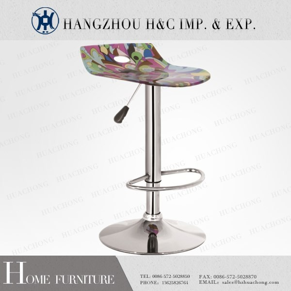 HC-K095-1 Cheap Swivel Acrylic Chair for Bar