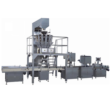 Automatic talcum powder weighing and packing filling machine