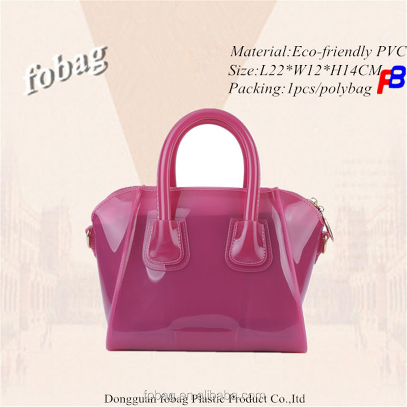 4ed26c7ea8 New Arrivals Mini Women Handbags Jelly Beachkin Bag 2018 Latest Red Lady Bag  Transparent Jelly Shoulder PVC Bag