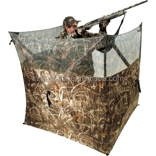 3 walls hunting blind