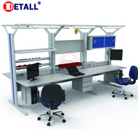 Detall ESD work bench for cell phone repair and other electronics
