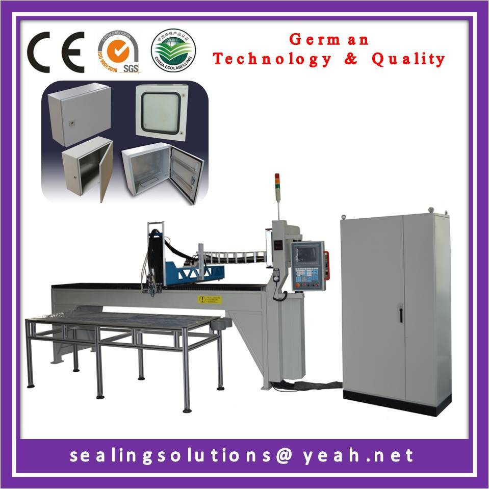 8.10 Auto Polyurethane machine for sealing cabinets