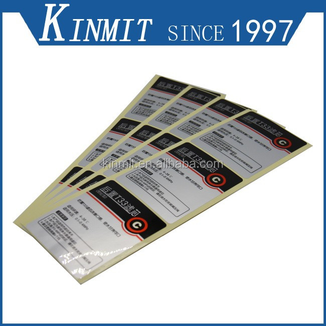 Full Color Printing PVC Adhesive Labels