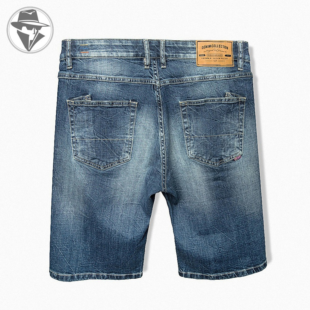 93280819183 Get Quotations · Leepen Men s Cotton Knitted Denim Shorts Big   Tall Summer Fit  Jeans High Quality Mid-