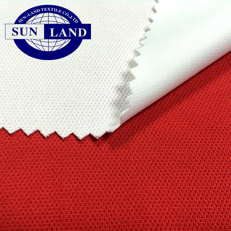 100% polyester frivolous breathable Bamboo carbon anti bacterial jersey mesh fabric for underwear