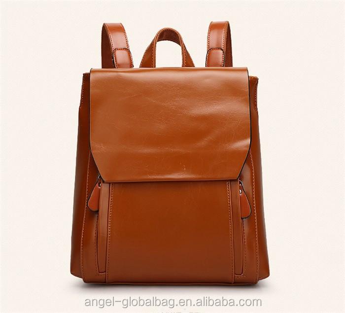 Venta al por mayor mochilas de cuero dama Compre online los