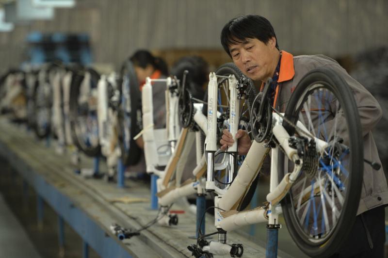 خط تجميع دراجة نارية للبيع من JDSK
