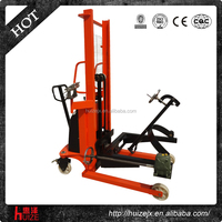 Electric Scale Oil Drum lifting equipment oil drum carrier trucks