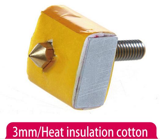 3mm Ceramic Cloth Insulation for 3D Printer Heating Block