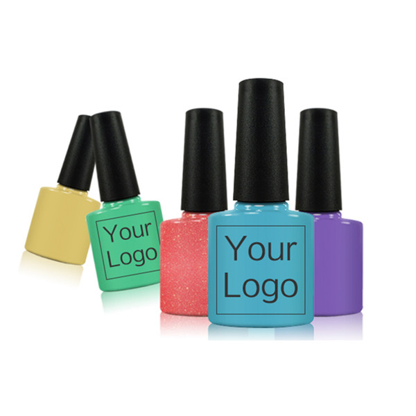 Thousand colors to choose from customized/private label uv nail gel polish