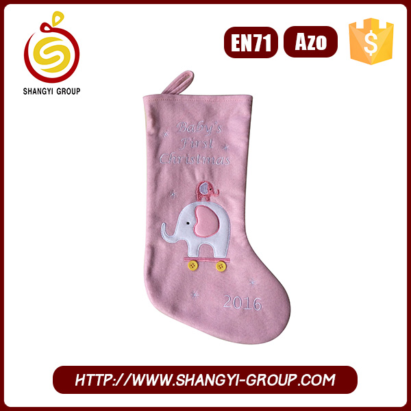 Trend 2017 Christmas Gift Packs Pink Elephant Stockings
