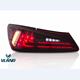 VLAND factory hot selling for Car Tail lamp for IS250 LED Taillight 2006 2007 2008 2009 2010 2011 2012 for IS250 Tail lamp