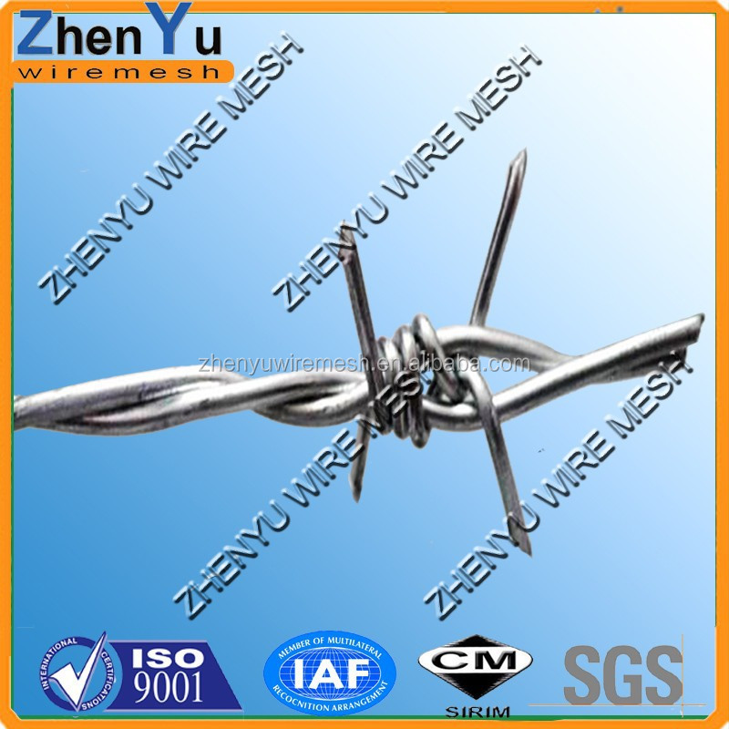 Top 12x12 14x14 12x14 Wire Gauge Barbed Galvanized Barbed Wire - Buy ...