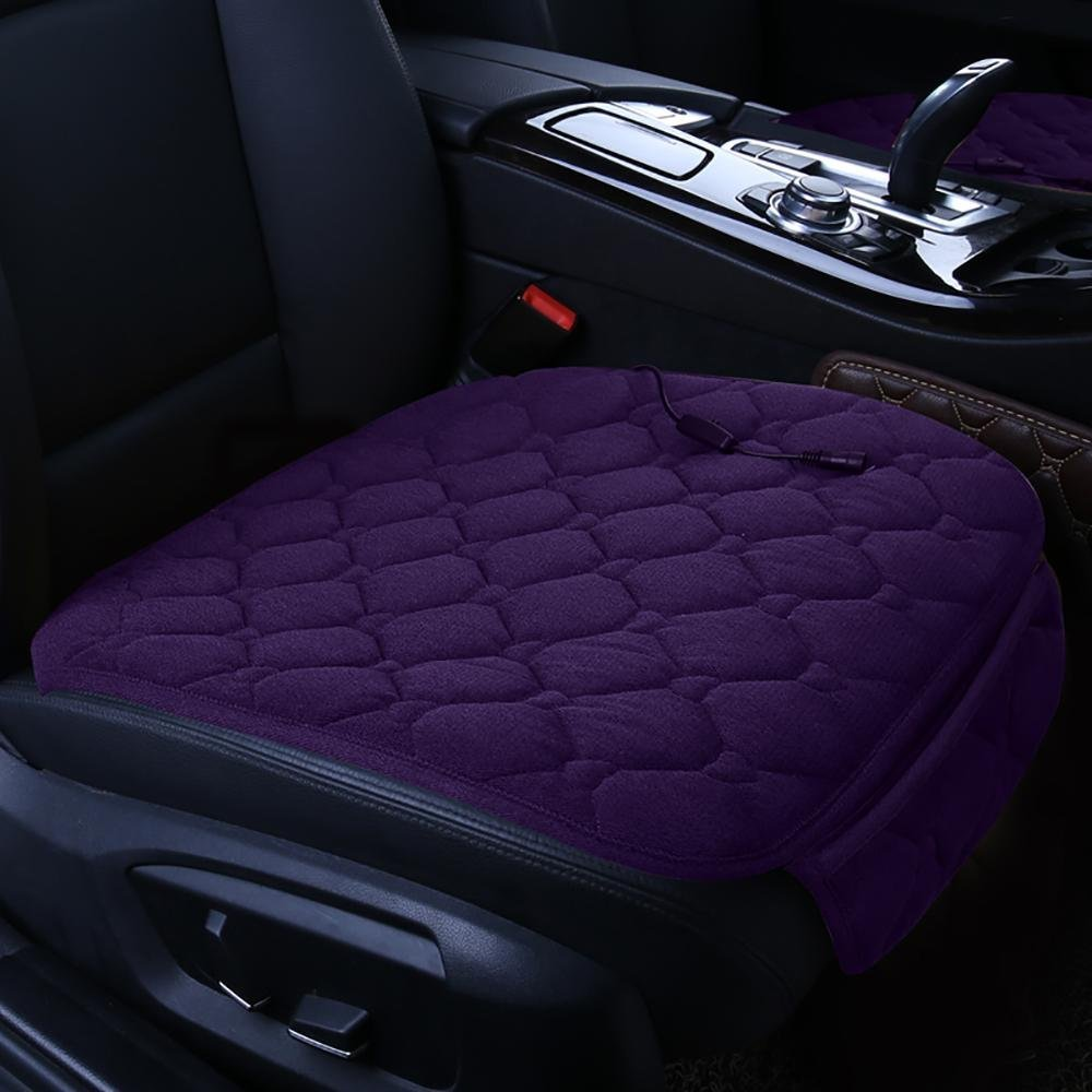 Get Quotations CAR 12V Car Seat Heater Chair Warmer Cushion Heated Warming Purple
