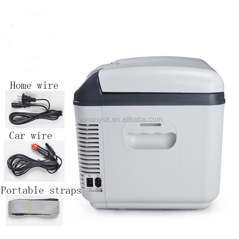 12L High-Capacity Double Refrigeration Mini Fridge Car Refrigerator Dual Use Of Car And Household