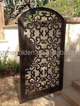 GYD 15G0237 Artistic Laser Cut Iron Sheet Small Garden Gate Designs