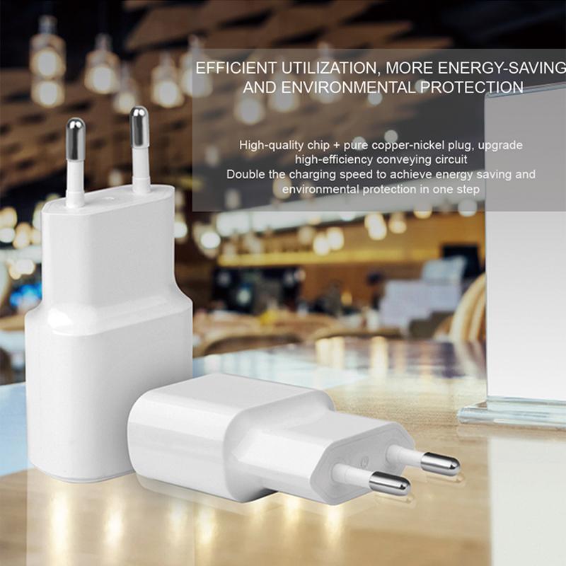 phone eu plug 5v 1a usb wall charger