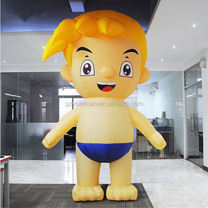 New design inflatable haier brothers cartoon characters for advertising decoration