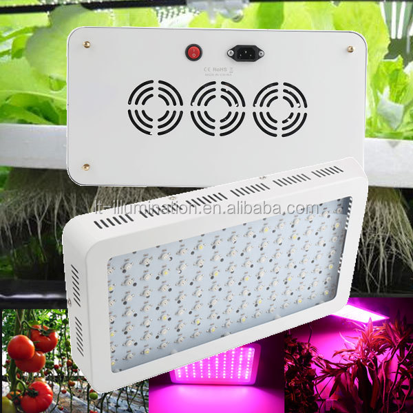factory supply 600w 120led* 5w agricultural greenhouse medical plants lettuce grow light