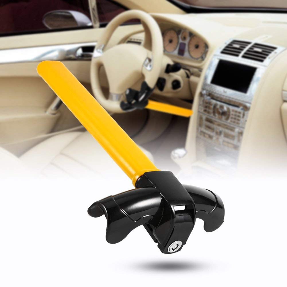 Anti-Theft Wheel Lock Universal Vehicle Safety Protection Security Lock with Keys
