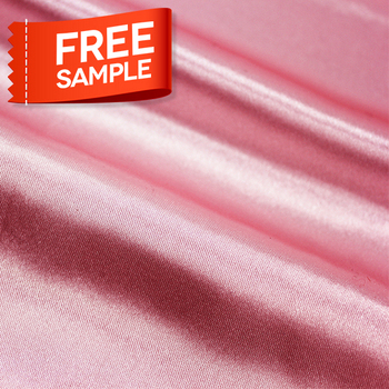 Wholesale Milk Polyester Pure Stain Silk Fabric for shoe
