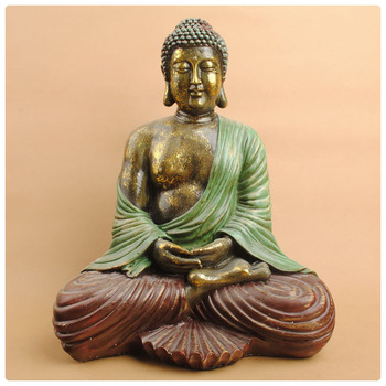 Colorful Large Buddha Statue For Sale,sitting Buddha Statue Hig Quality ,buddha  Garden Statue