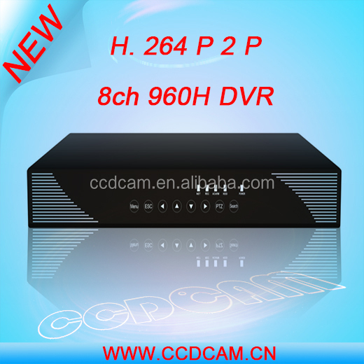 Free CMS,builted-in ddns,HDMI output,mutilanguage OSD,motion detection,8ch dvr h 264