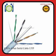 Pass fluke test Cat6 standard UTP 305M unshielded Network Cable