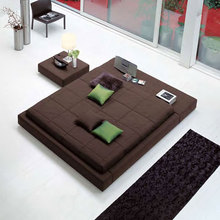 Modern fabric bed BE-08#