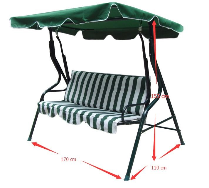 Garden Swing Chair With Canopy Swing   Patio Swing   Porch Swing Bench