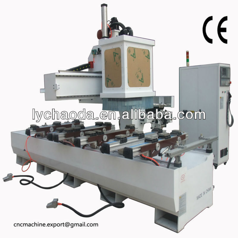 CHAODA single arm solid wood door engraving cnc router machine