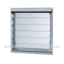 Aluminio ventana de celos a de vidrio flexible ventanas - Celosias para ventanas ...