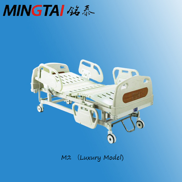 CE ISO adjustable medical 2 function hospital beds for sale