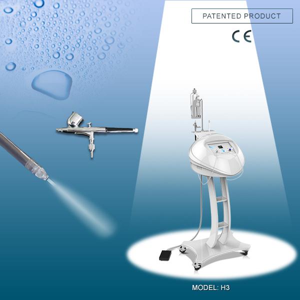 水酸素ジェットの皮フェイシャルスキンケア美容機器 H3
