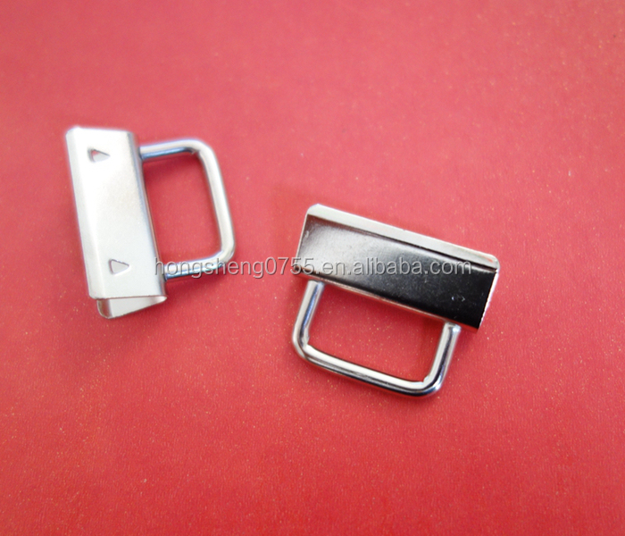 China supplier 1inch metal key fob sets hardware with ring
