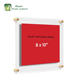2018 Factory Wholesale Clear Acrylic Wall Hanging Photo Frame Wall Cetering Display Stand