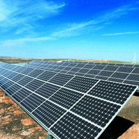Large scale solar power system 100 Megawatts solar power plant 100MW solar power station