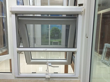modern india windows design upvc top hung windows with mosquito