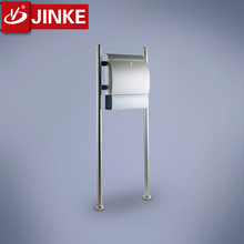 Euro Style Steel Polishing Apartment Mailbox to Buildings
