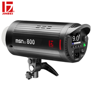 JINBEI MSNIII-800 800W Professional High-speed Sync Studio Flash Light 1/19000s Flash Duration to Freeze Dynamic Portrait Images