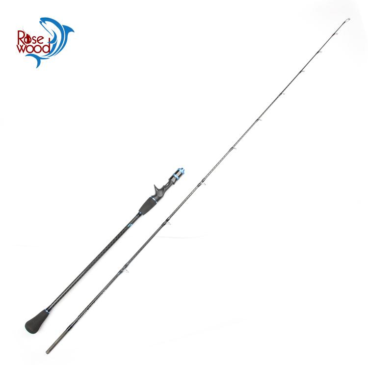 Rosewood Hot sale slow jigging fishing rod carbon (632) 5/5 1.95m saltwater sea baitcasting trolling boat fishing rod tackle