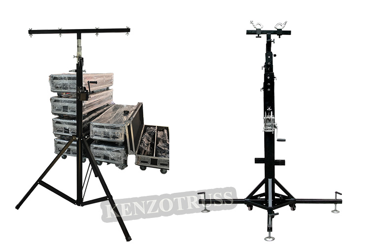 Cheap Truss Lift Tower Crank Stand for Event Lighting Truss