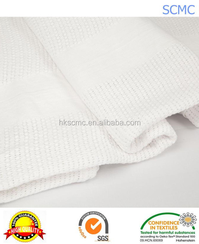 Professional standard queen white 100% Cotton are cellular blankets warm