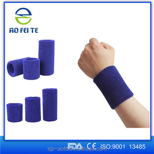Wholesale Wrist Band Sweat Sports Wristband Terry Cloth Wristband