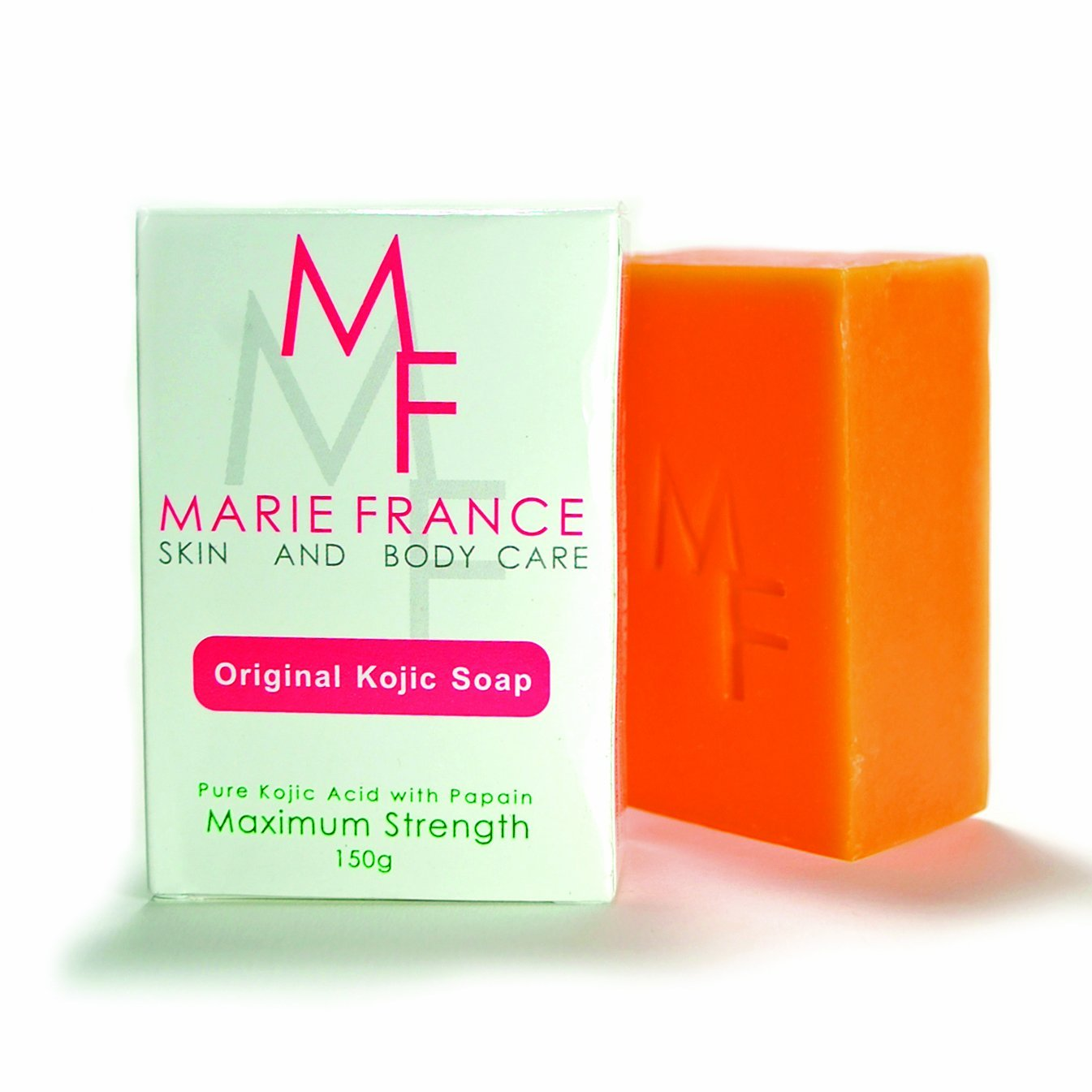 12 Marie France Professional Strength Kojic Soap 150g