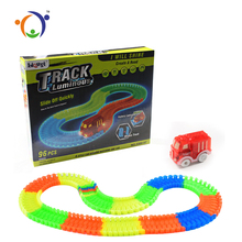 Hot Selling Magical Slot Car Luminous Race Track Toy For Wholesale